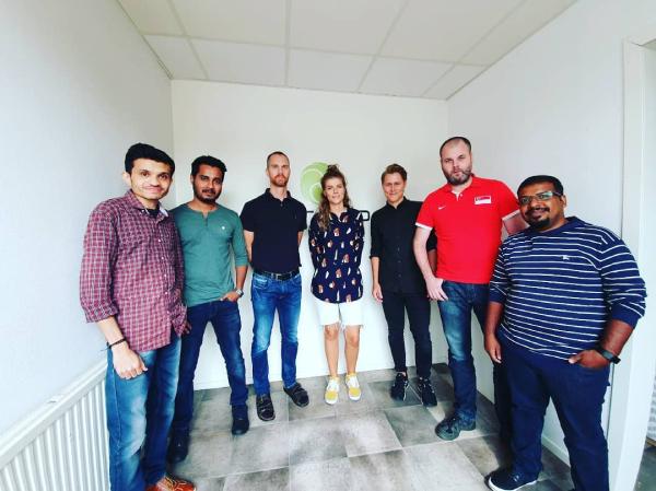 Onsite client visit Bridge Global