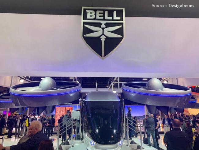Bell Nexus 4EX air taxi- CES 2020
