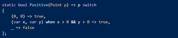 Switch expressions
