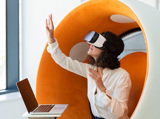 Increased adoption of AR VR