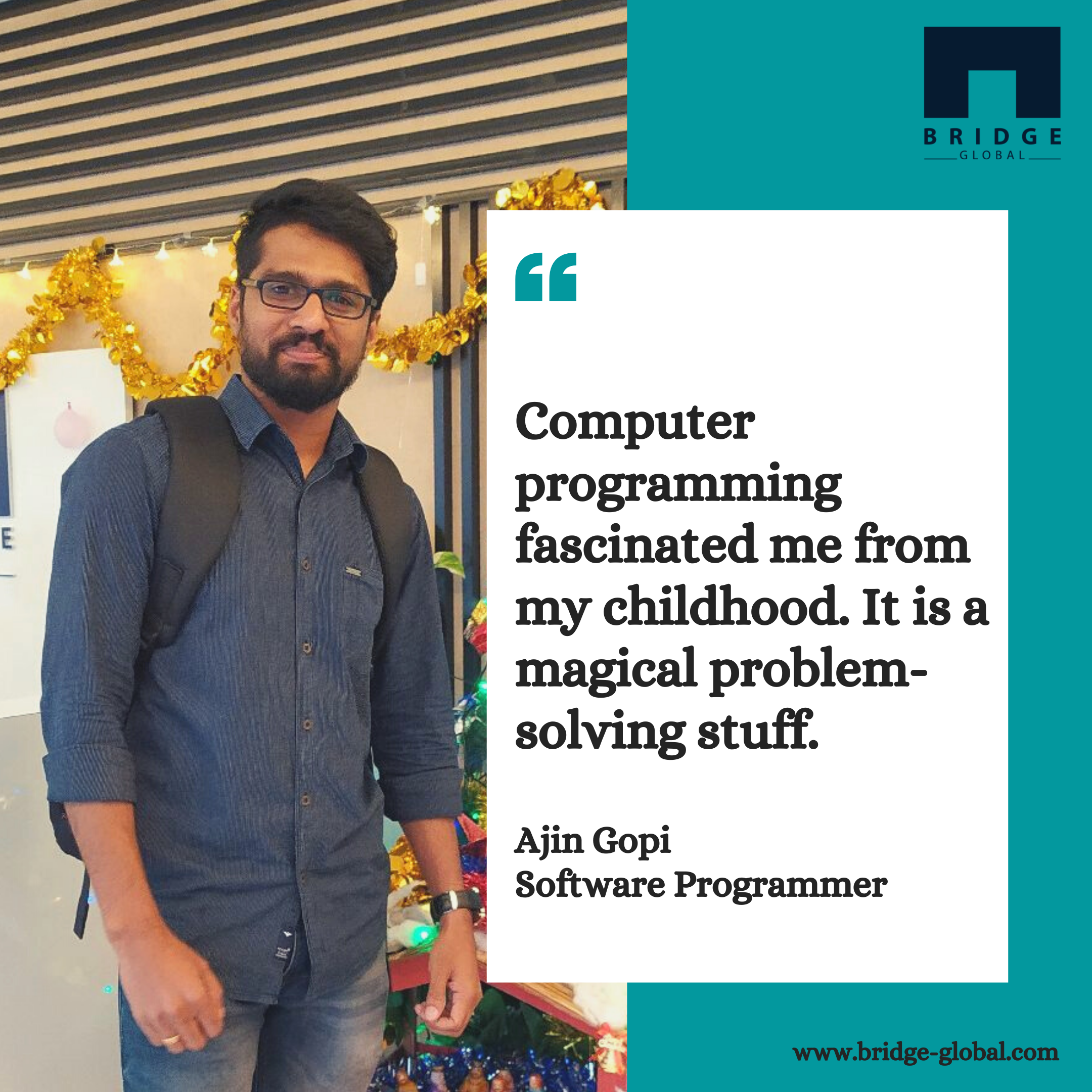 Why I Love Programming _ - Ajin - Bridge Global