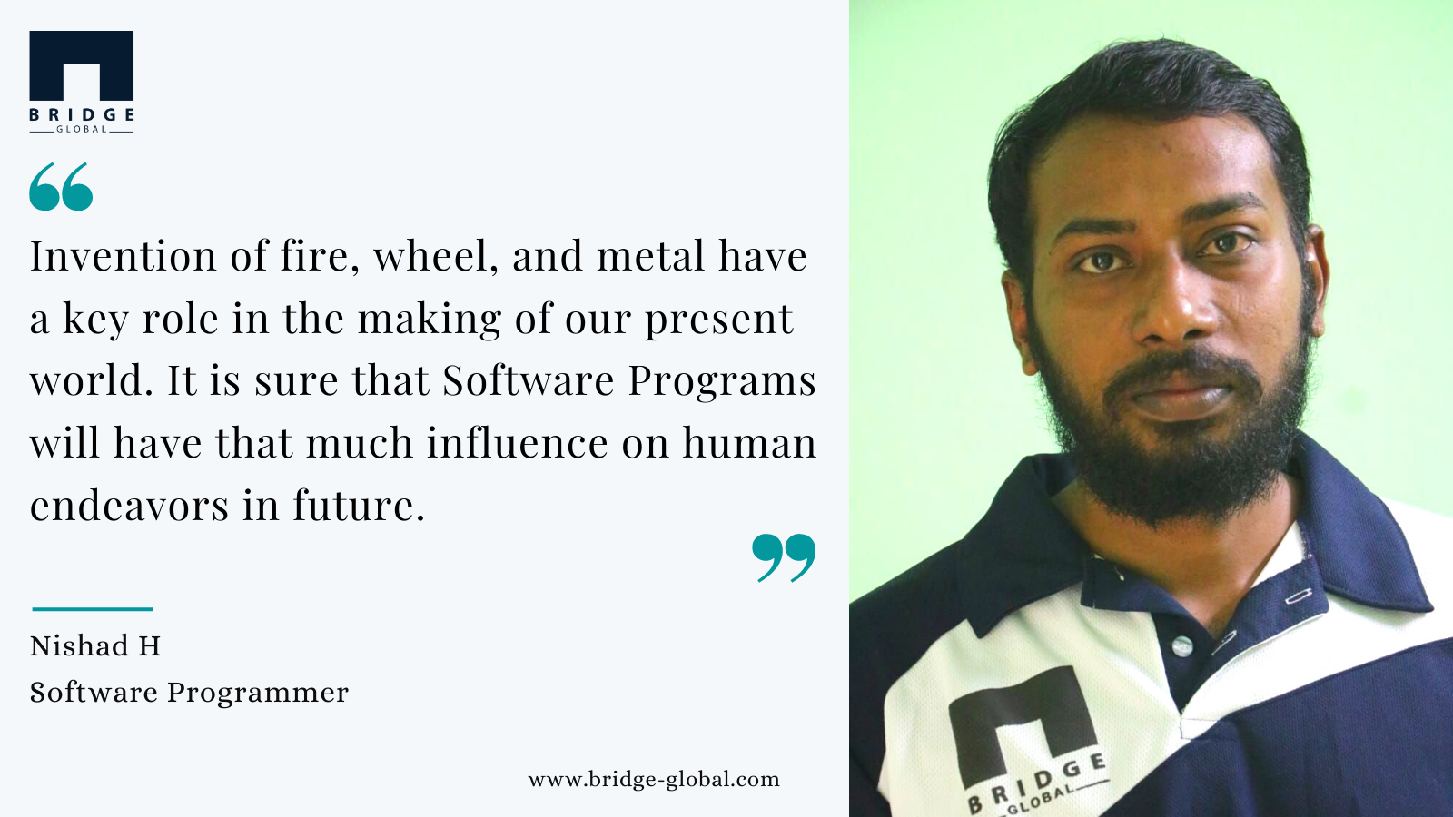 Why I Love Programming_ - Nishad - Bridge Global