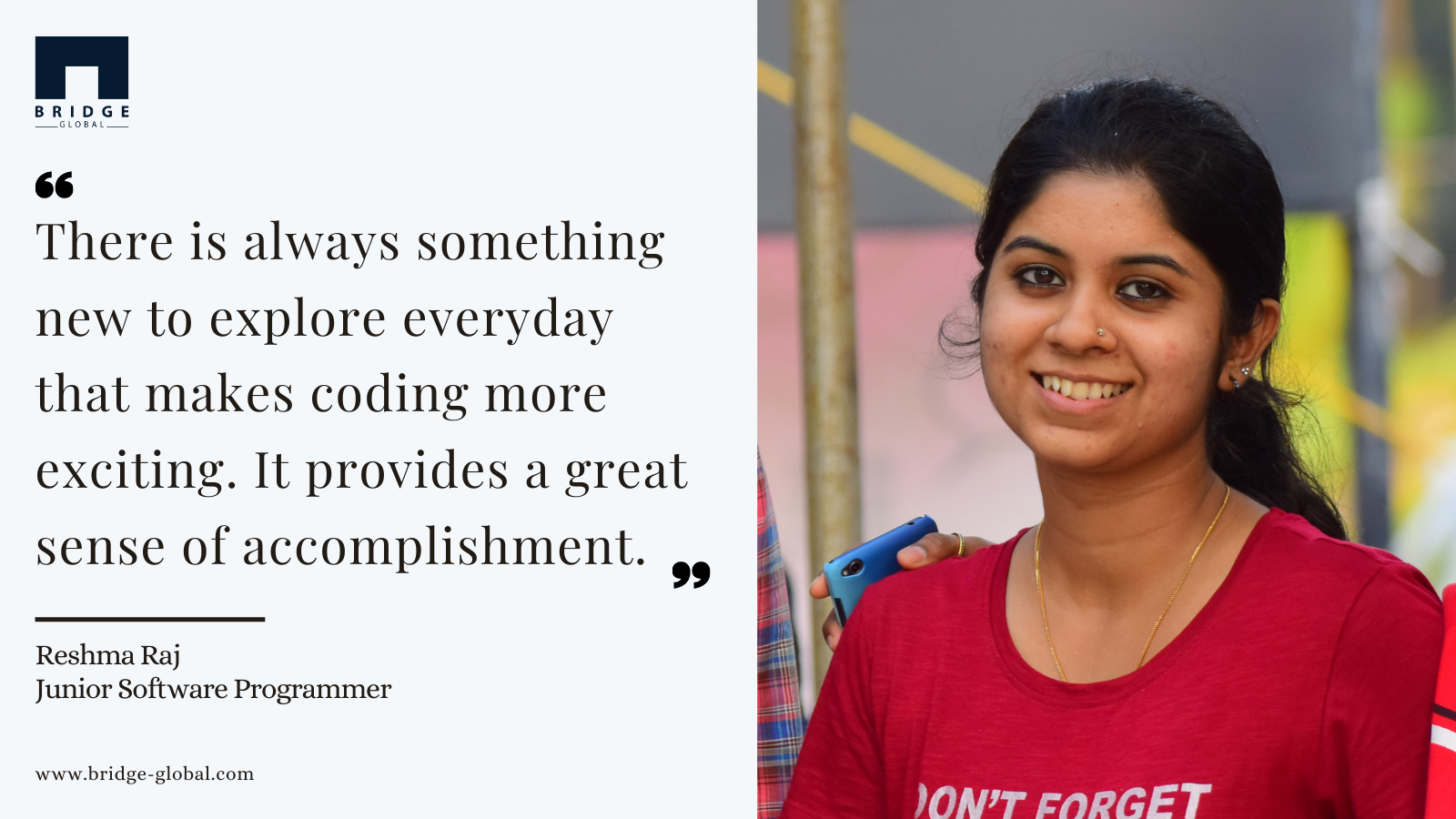 Why I Love Programming_ - Reshma - bridge Global