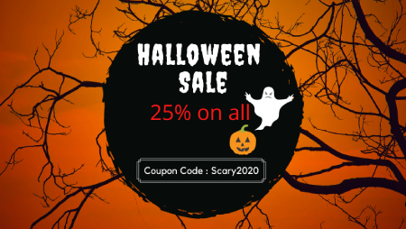 Run an urgent and irresistible discount promotion to boost Halloween ecommerce sales 2020