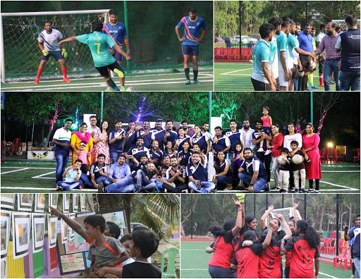 IT Futsal Challenge - A sports tournament for software professionals conducted by Bridge Global