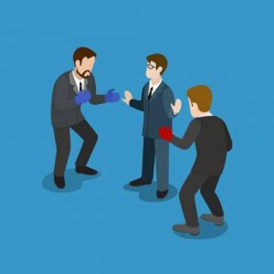 Cross-functional teams handle conflict resolution constructively