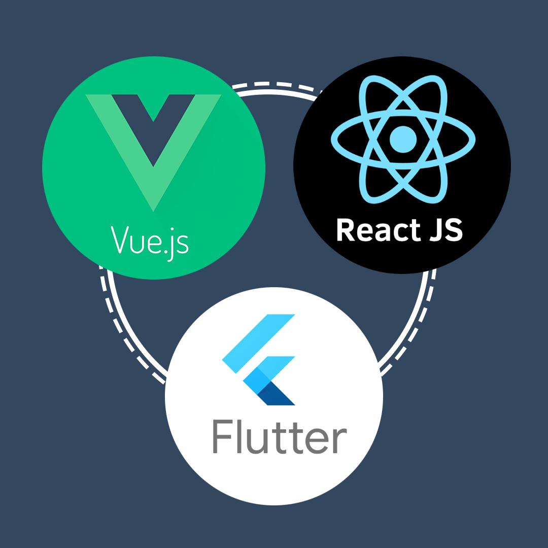 MEAN - React - Vue - Flutter- 13 Web Development Trends