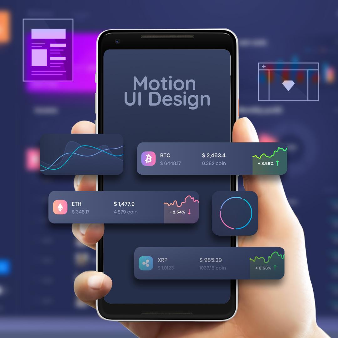 Motion UI Design- 13 Web Development Trends