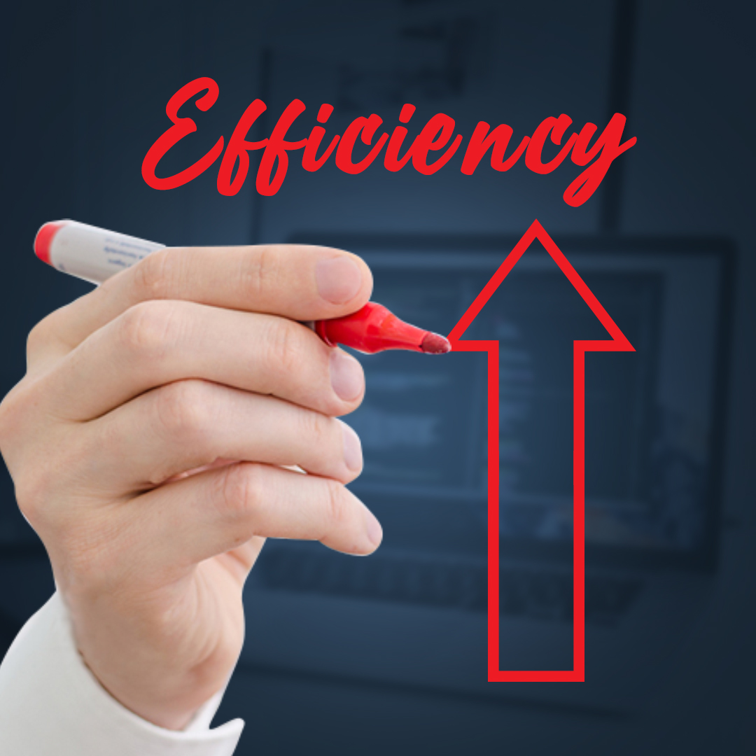 Custom software improved organizational efficiency