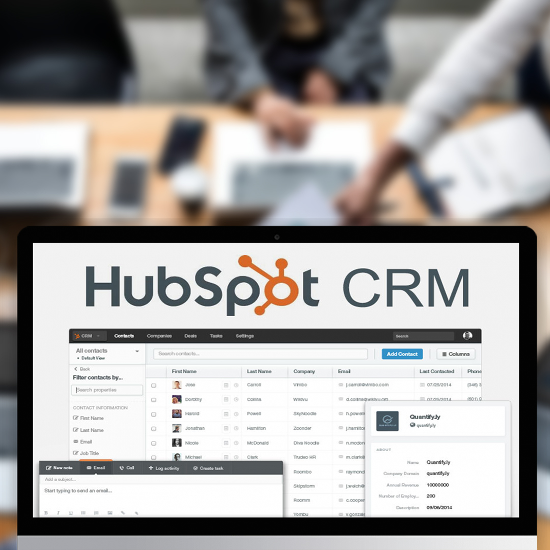 HubSpot CRM communication tools for businesses
