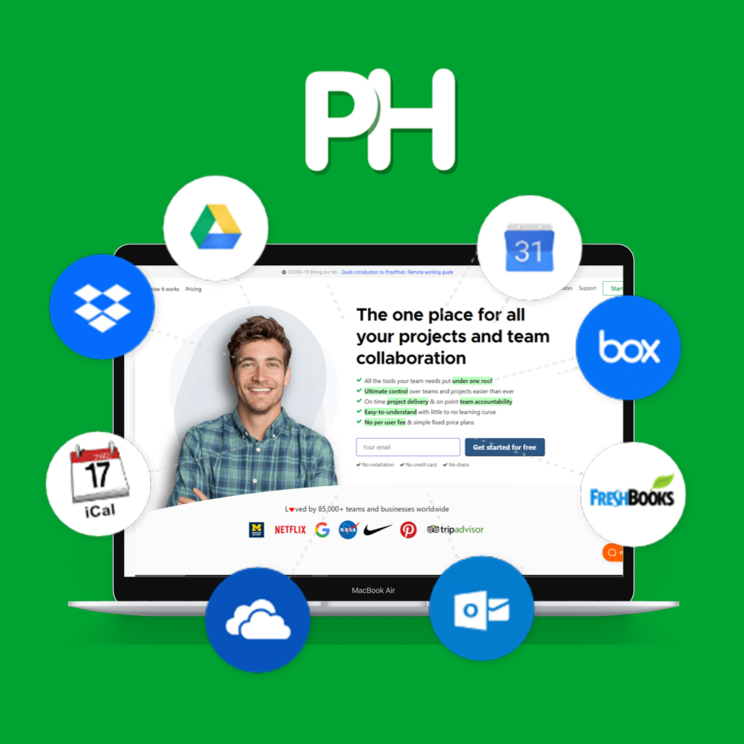 proof hub-communication tools for businesses