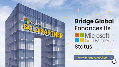 Bridge Global Expands Its Microsoft Gold Partner Certification Competencies