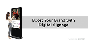 Want to Create Impressive Brand Experiences? Choose Digital Signage